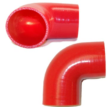90 Degree Red Hoses